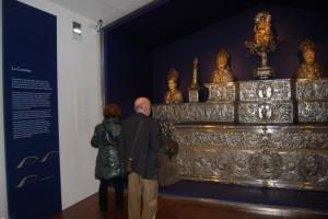 Altar de plata de Barbastro. JLP.