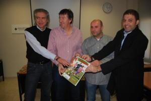 Paco Ballarín, José Luis Torres, Toño Castillo y Miguel Ángel Ric. JLP.