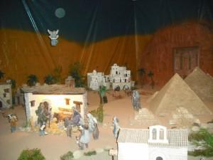 Pirámides y Petra junto a Belén. JLP.