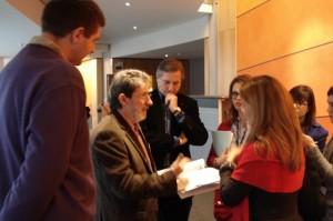 Aso, Barrena y Meller en Bruselas.