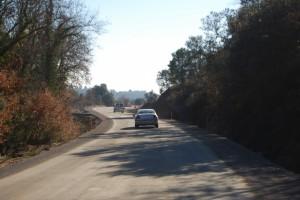 Carretera de Salas Altas. JLP.
