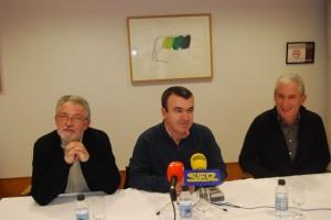 Acín, Silva y Albero. JLP.