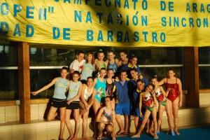 Nadadoras del Somontano. JLP.