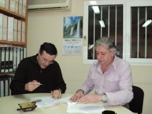 José Antonio Andreu e Ignasio Baso.