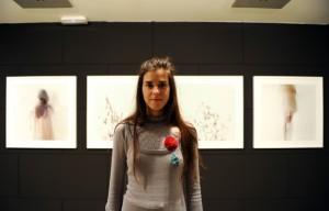 Sandra Melero, una de las artistas.