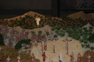 Jesús resucitado asciende a los cielos. JLP.