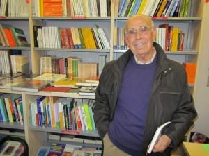 Luciano Puyuelo en la UNED de Barbastro. JLP.
