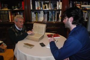 Luis Álvarez entrevista a Ángel Gari. JLP.