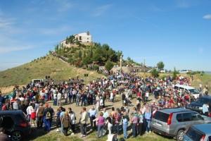 La Alegría recibió a miles de montisonenses. JLP.