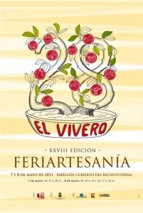 Cartel de Feriartesanía.