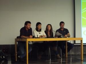 Integrantes de la asociación Carrodilla Sostenible.