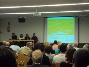 Presentación de la asociación en Estadilla.