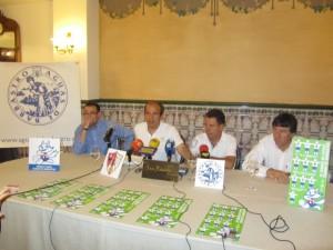 Presentación del torneo en el Hotel San Ramón. JLP.