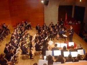 Actuación de La Lira en Santa Cecilia.