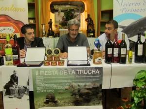 Presentación de la II Fiesta de la Trucha. JLP.