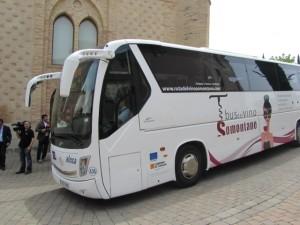 El Bus entra en San Julián. JLP.