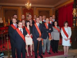 La Corporación Municipal. Rosa González.