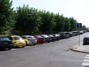 Nuevos aparcamientos en la Avenida Goya.