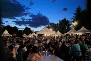 La muestra gastronómica del Festival Vino Somontano tuvo un éxito rotundo.