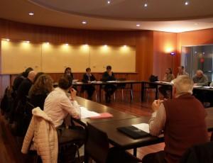 Reunión en la DPH para la coordinación de los circuitos culturales.