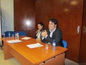 Jóvenes investigadores sobre Costa. JLP.