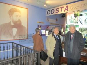 Visita a la casa de Costa. JLP.