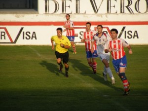 Partido de Copa Federación entre Barbastro y Villanueva. Ángel Huguet.