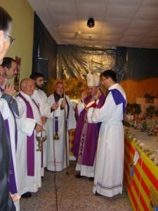 Inauguración del Belén de Lagunarrota. E.A.