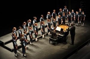Chicos del coro.