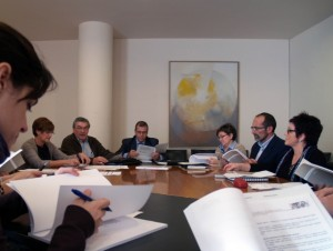 Reunión del IEA.