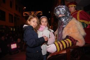El paje real con dos niñas. JLP.