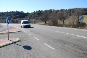Carretera de El Grado. JLP.