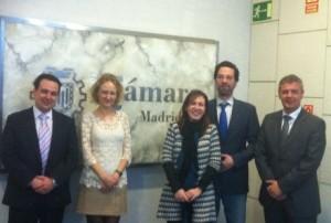 Reunión en la Cámara de Madrid.