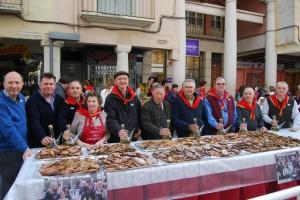 El grupo Tradiciones, organizador de la Fiesta. JLP.