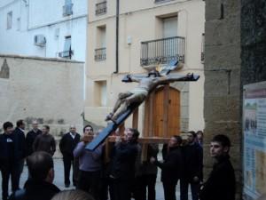 Procesión del Santo Cristo.