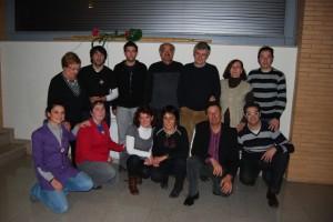 Algunos miembros de la familia de Ronda Somontano.