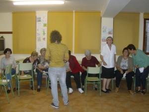 Una sesión del taller.