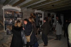 Inauguración de la exposición 'Si no hay grano nos vamos'. JLP.