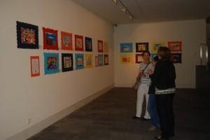 Exposición de los carteles escolares seleccionados. JLP.