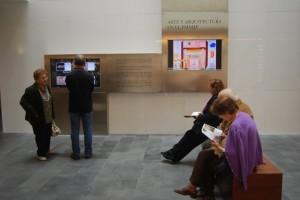 Visitantes al Museo Diocesano. JLP.
