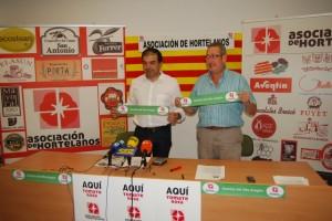 José Antonio Armengol y Esteban Andrés con la nueva marca. JLP.