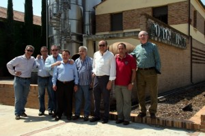 Visita de Custodio Zamarra a Pirineos.