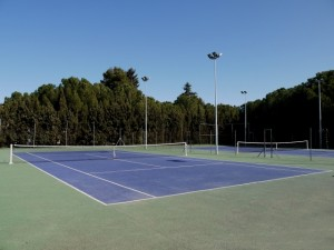 Pistas de tenis de Monzón.