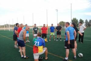 Una sesión de entrenamiento. JLP.