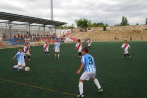 Partido de la final entre el Málaga y el Rayo. JLP.