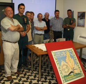 Acto de presentación de la Virgen del Pilar del Aneto. NBC.