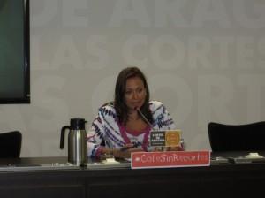 Mayte Pérez censura los recortes educativos.
