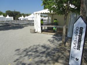 El campo de los Escolapios acoge la Muestra Gastronómica. JLP.
