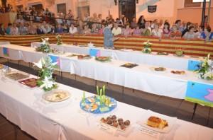 Algunos de los platos presentados. JLP.