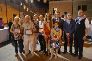 Los ganadores con las damas y autoridades. JLP.